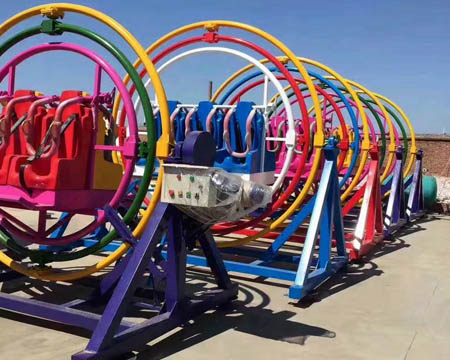 Buy Human Gyroscope Rides from China