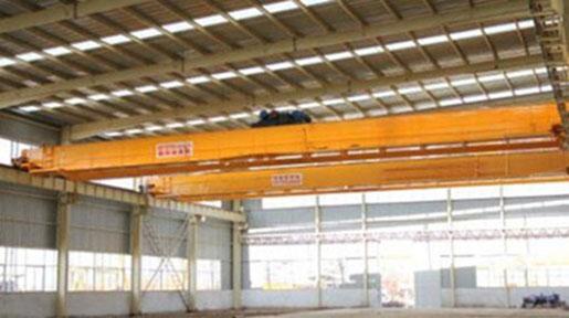 an overhead crane