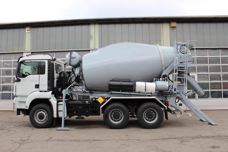 AIMIX Transit Concrete Mixer Truck For Sale