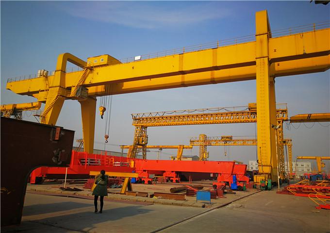 Get gantry crane 60 ton from China